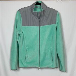 Danskin Now mint green/grey jacket size XL